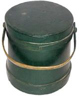 "R92 Firkin with the original Windsor green paint 9"" across the top"