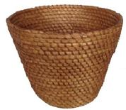 A20  19THC PENNSYLVANIA RYE STRAW BASKET IN PRISTINE CONDITION
