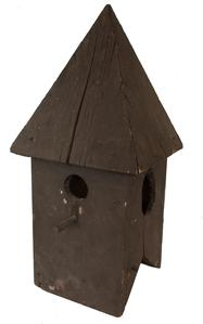 A345  19th century wooden Bird House Cupola, from the collection of Harry Hartman , Pennslyvania