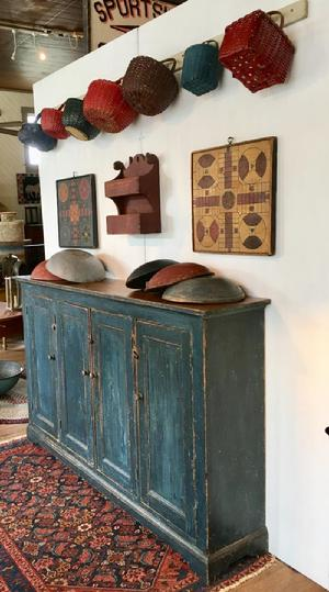 Their Love Of Americana Led To Specializing In 18th And Early 19th Century  Country Painted Furniture. They Also Do Several Shows Each Year, Sharing  Their ...